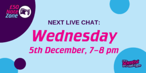 Live Chat: Wednesday 5th December, 7–8 pm