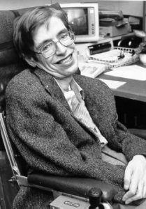 Stephen Hawking (Courtesy NASA StarChild) [Image: Wikimedia]